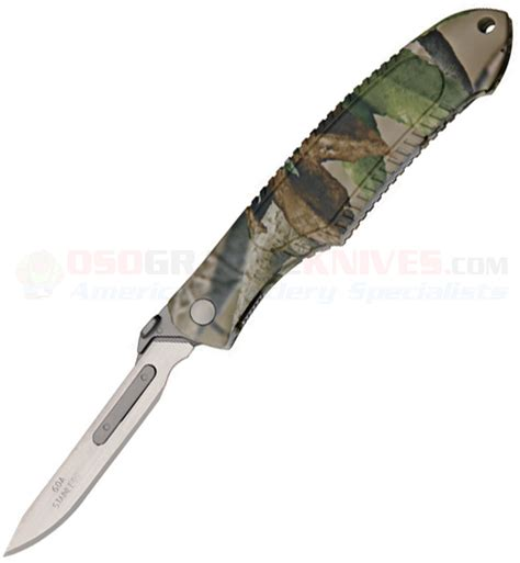 havalon piranta edge havalon piranta edge skinning knife 60xt blade camo