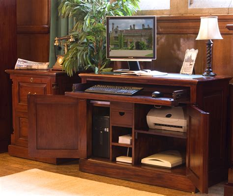 Mahogany Home Office Furniture Home Office Furniture At Wooden Furniture Store
