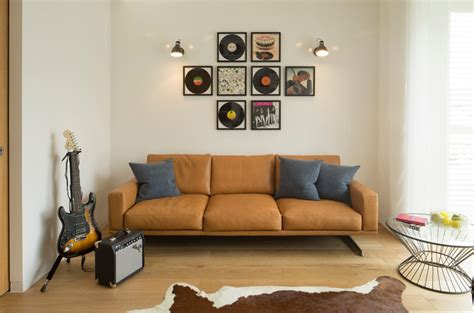 Living Room Furniture Orange County Brown Leather Family Room Traditional With Pillows Metal Side Tables And End