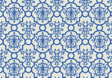 Motif Flower Blue by Blue Floral Pattern Background