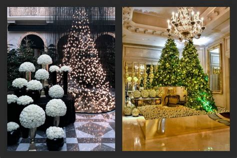 Decorated Homes For Christmas Christmas Decor At Four Seasons Hotel Luxury Topics
