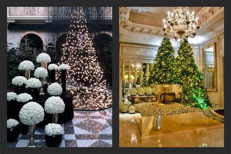 hotel lobby christmas decorations decor at four seasons hotel luxury topics luxury portal fashion style trends