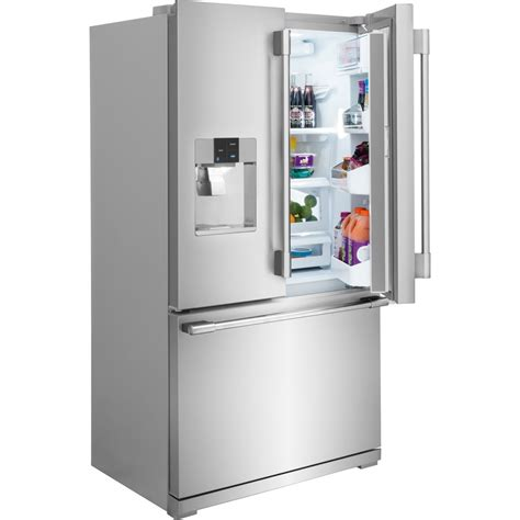 fpbc2277rf frigidaire professional 36 quot 22 6 cu ft counter depth french door refrigerator