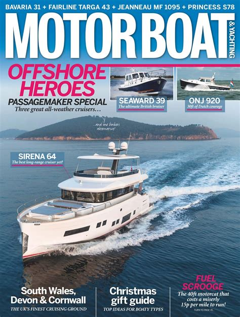 motorboat and yachting back issues motorboat yachting magazine january 2018 subscriptions