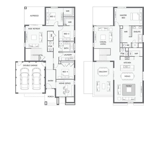 upside down house floor plans upside down living house plans