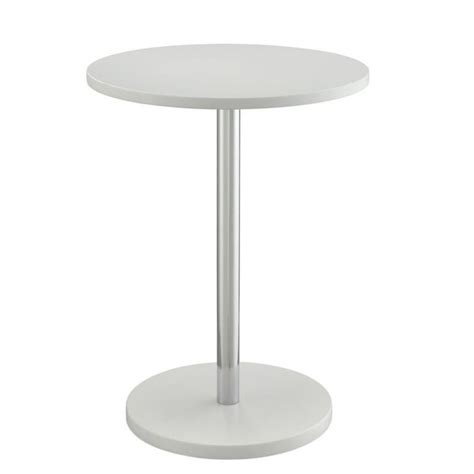 round white accent table carolina classic bryce round accent table in white 1723wht