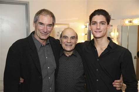 timothy dalton and wife from left actor timothy dalton cast member david suchet