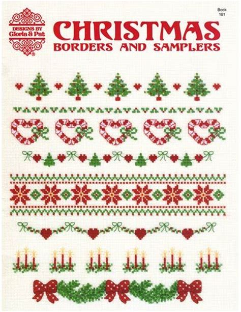 christmas pattern border christmas cross stitch border ideas christmas cross