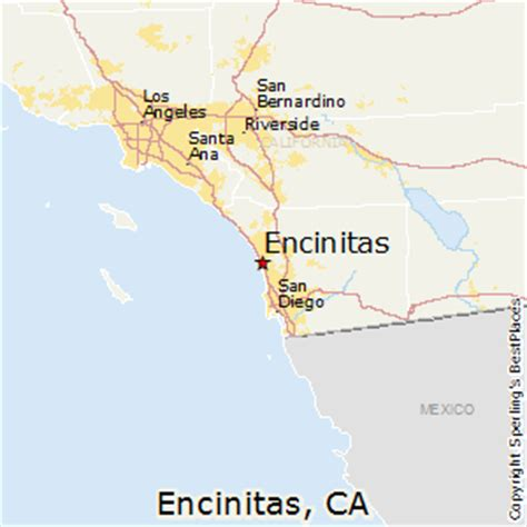 california map encinitas best places to live in encinitas california