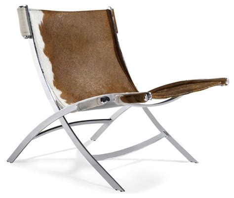 Modern Cowhide Chair - cowhide pk22 style easy chair modern armchairs and accent