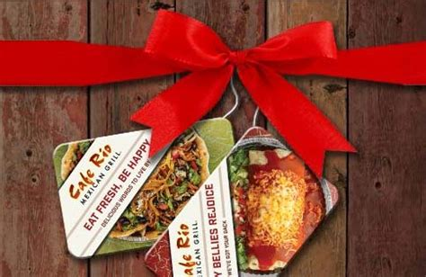 Cafe Rio Gift Card - cafe rio free 10 gift card with 25 gift card purchase coupons 4 utah