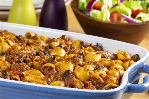 pasta  ground beef casserole mrfoodcom