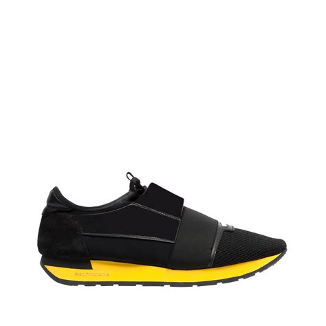 balenciagas shoes balenciaga race runners black s race shoes