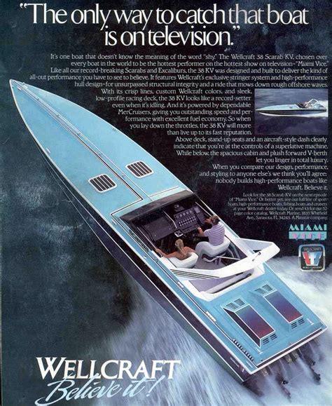miami vice sonny crockett boat miami vice wellcraft boat cigarette boats pinterest