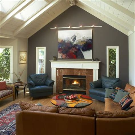 decorating rooms with cathedral ceilings fireplaces ceiling design and grey on
