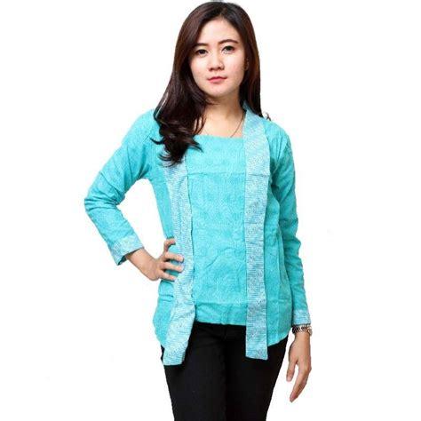 Baju X8 15 Batik Kerja Modern Lengan Panjang 2017 Update Model