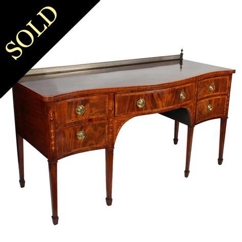 antique sheraton sideboard table georgian mahogany sideboard