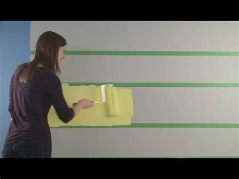 painting my bedroom wall youtube how to paint stripes on your walls sherwin williams