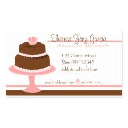 cake business card template designer bakedgoods cake sided standard business
