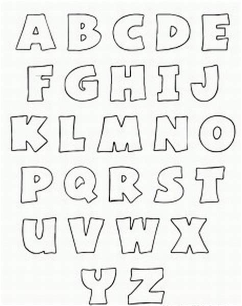 printable letters of the alphabet templates free printable alphabet stencils printable bubble