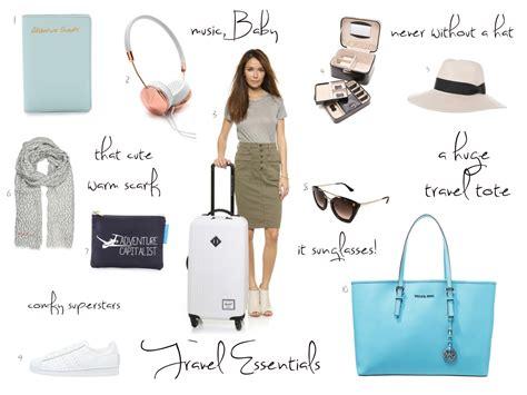 my travel essentials fashionhippieloves