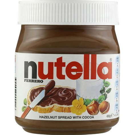 Nutella Hazelnut Spread 200 Gr 30 gram nutella