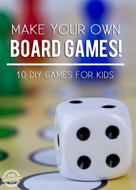 homemade board games   published  kids