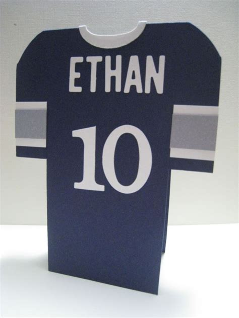football shirt card template 17 best images about templates on football