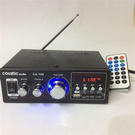 Power Lifier Rakitan Murah jual power lifier coustic dc mp3 usb baru power lifier audio mobil murah
