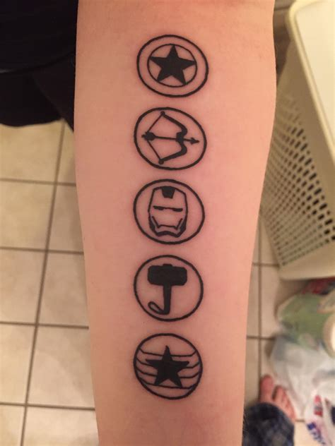 i got a marvel tattoo on marvel s 10th anniversary without
