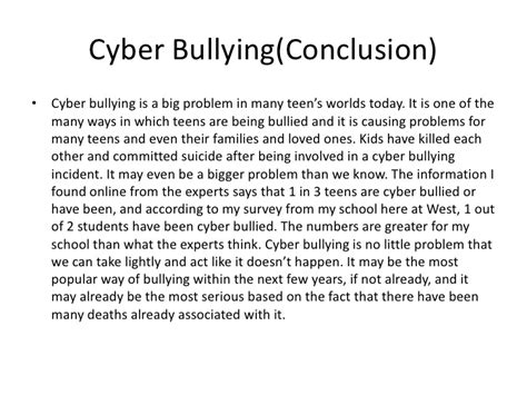 thesis title for cyberbullying cyber bullying powerpoint