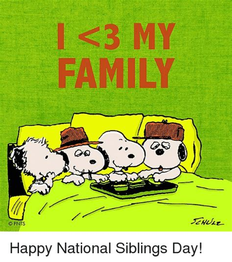 National Siblings Day Meme - 25 best memes about national siblings day national