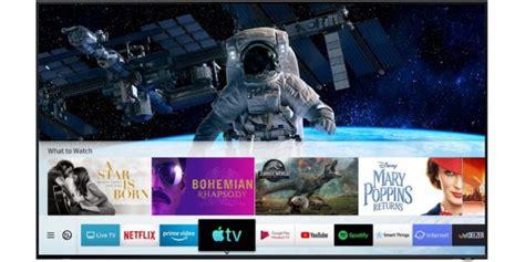 apple tv  airplay  debuttano su smart tv samsung
