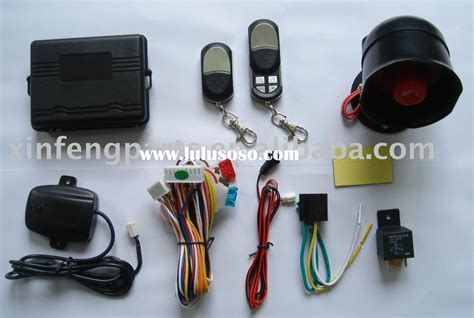 Alarm Mobil Auto one way auto alarm vehicle car mobile spare parts
