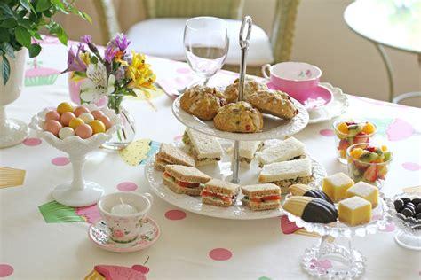 Tea Decorations tea with cecilia glorious treats