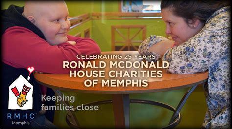 ronald mcdonald house memphis ronald mcdonald house charities of memphis celebrates 25