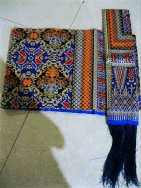 Sadum Semi Asli Tarutung Sarung Selendang raja murah songket sale kain suji palembang