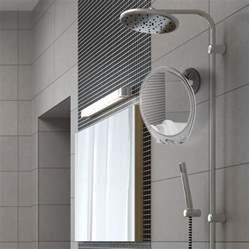 anti fog bathroom mirror anti fog shaving mirror for the shower