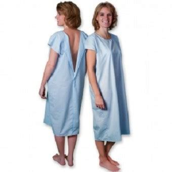 Blue Hospital Detox by Patient Gowns Hospital Gowns Gowns Sleep