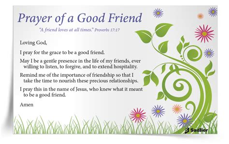 prayer of comfort for a friend we believe and share catholic prayer friendship