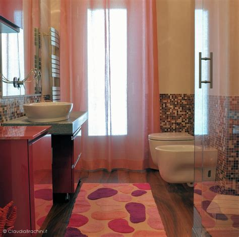 mosaico rosso bagno bagno con mosaico rosso piastrelle bagno arancione
