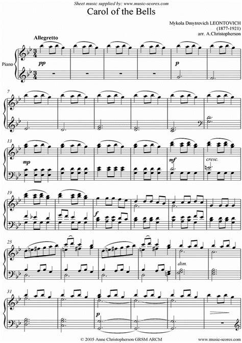 artindex carol   bells  foarte popular cantec de craciun