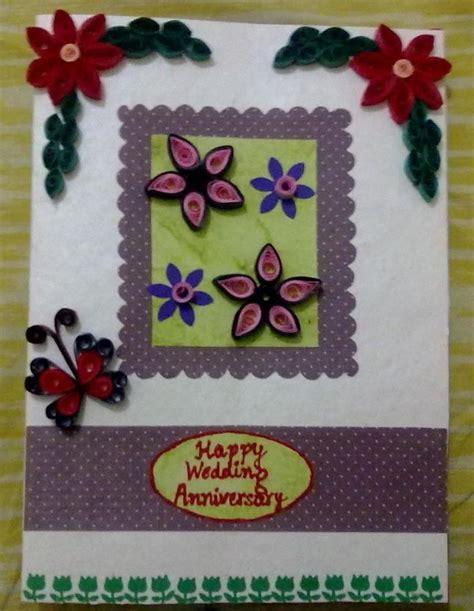 Handmade Anniversary Gifts For - handmade anniversary card crafts sneha garg touchtalent