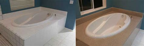 bathtub refinishing san francisco bathtub resurfaced with custom granite finish