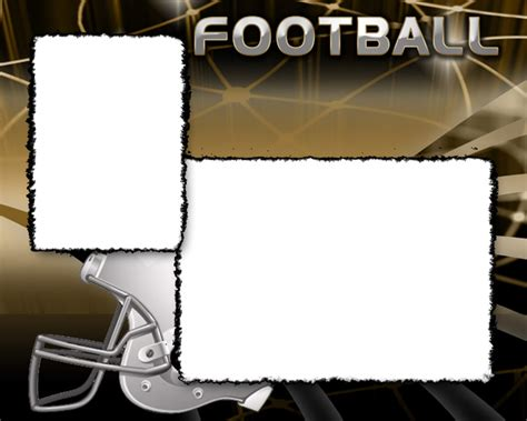 memory mate templates football photo templates