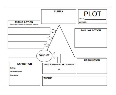 free printable plot diagram pin printable plot diagram worksheet on