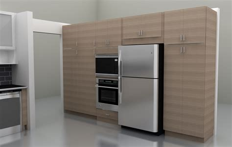 ikea built in fridge cabinet kitchen fridge cabinets kitchen design ideas