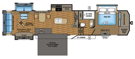 Jayco Fifth Wheel Floor Plans 2017 pinnacle luxury fifth wheel floorplans amp prices