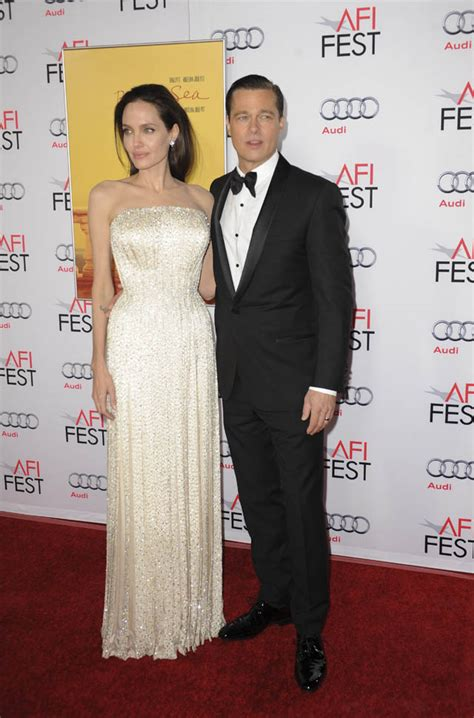 By The Sea Afi Review Angelina Jolie Pitt Stages Dreary | brad pitt and angelina jolie at afi fest for by the sea