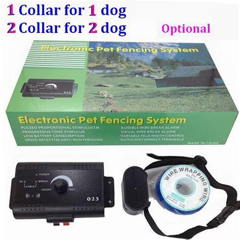 set underground electric pet dog fence radio